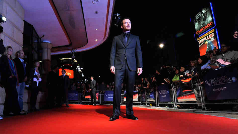 Actor Michael Fassbender attends the 'Shame' premiere during the 55th BFI London Film Festival on October 14, 2011 in London, England.