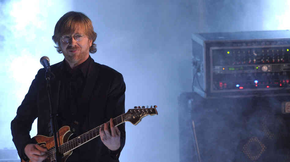 Trey Anastasio of Phish.