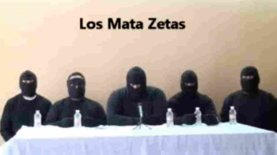 """""""Los Mata Zetas,"""" or the """"Zeta Killers,"""" described themselves in a recent video as a paramilitary group that will go after members of the Zeta drug cartel. The Mexican government, however, has described it as a rival drug cartel that is just seeking to eliminate competition from the Zetas."""