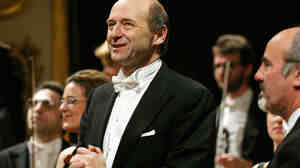 Conductor Ivan Fischer leads his Budapest Festival Orchestra in a program of Bartok and Schubert live at Carnegie Hall, Saturday, Oct. 29.