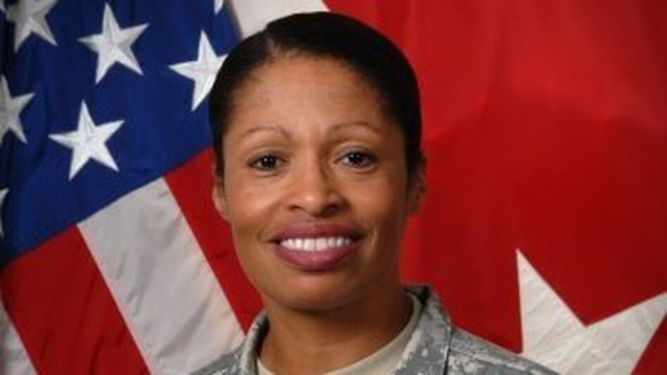 <p>Maj. Gen. Marcia Anderson is the first female U.S. Army black officer to obtain the rank of major general. </p>
