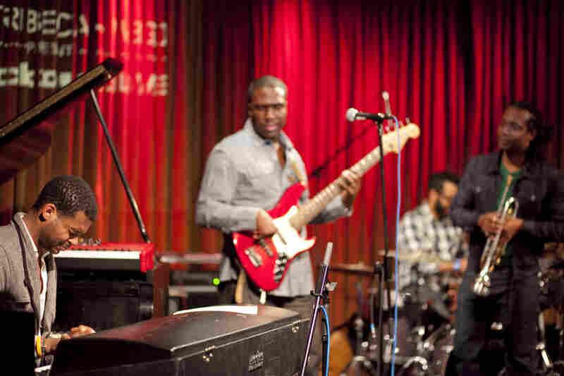 The Derrick Hodge Band.
