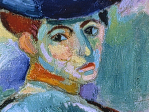 It took a little while for Leo Stein to warm up to Henri Matisse's wildly colored 1905 painting Woman with a Hat. But he kept going back to see it at the Grand Palais, and finally bought it for 500 francs.