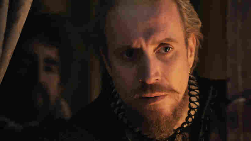 "Beard of Avon? Rhys Ifans plays the 17th Earl of Oxford, who in the preposterous calculus of Anonymous is the ""real"" author of Shakespeare's plays."