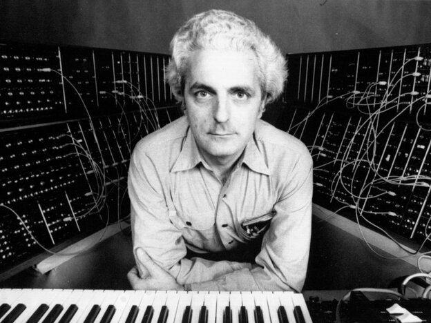 Bob Moog, namesake of the annual Moogfest music festival in Asheville, N.C.