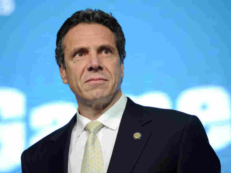 Gov. Andrew Cuomo, shown at the AOL Huffington Post Game Changers Awards on Oct. 18 in New York, has said extending the tax on top earners would be bad for business.