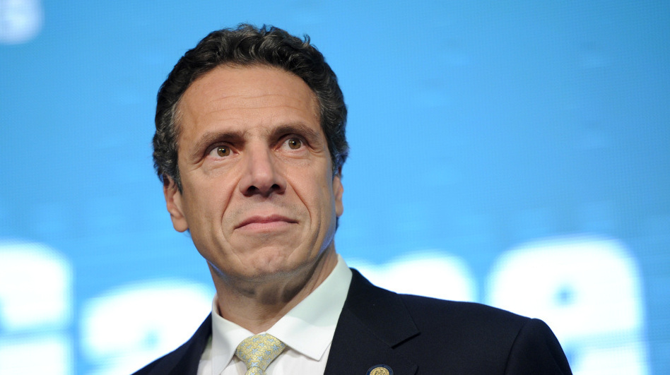 <p>Gov. Andrew Cuomo, shown at the AOL Huffington Post Game Changers Awards on Oct. 18 in New York, has said extending the tax on top earners would be bad for business.</p>