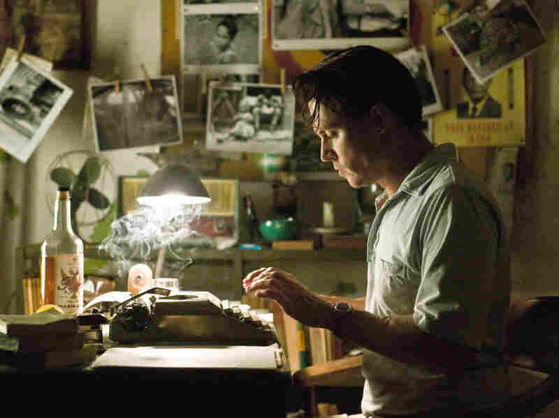 Johnny Depp plays American journalist Paul Kemp in The Rum Diary, a movie based on a Hunter S. Thompson novel. Kemp travels to Puerto Rico to work at The San Juan Star, a Puerto Rican English-language newspaper.