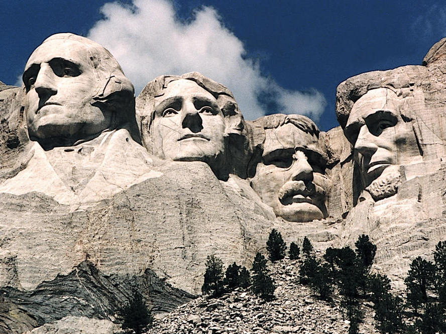 It took years for stone carvers to create the mount
