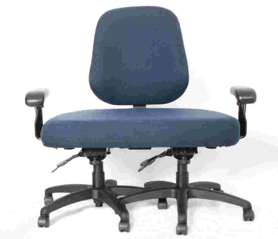 This office chair was custom-built by a company called ErgoGenesis for a client who exceeded the 600-pound limit of its other chairs. It cost $1,800.