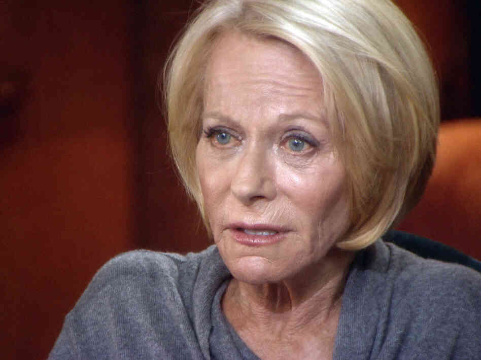 Ruth Madoff,during her interview with CBS News' 60 Minutes.