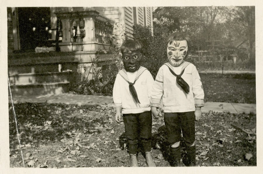 Vintage Halloween Photos Creepy Enough For David Lynch The Picture Show NPR