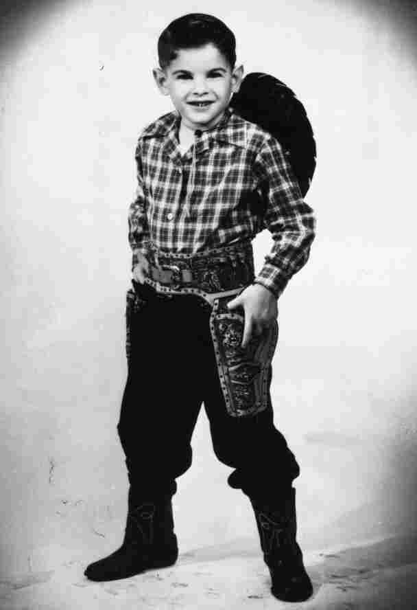 As a child obsessed with conventional cowboys, John Riccobono changed his name to Jon Pernell Roberts, after Bonanza star Pernell Roberts.