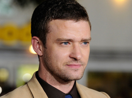 Justin Timberlake arrives at the premiere of In Time on October 20.