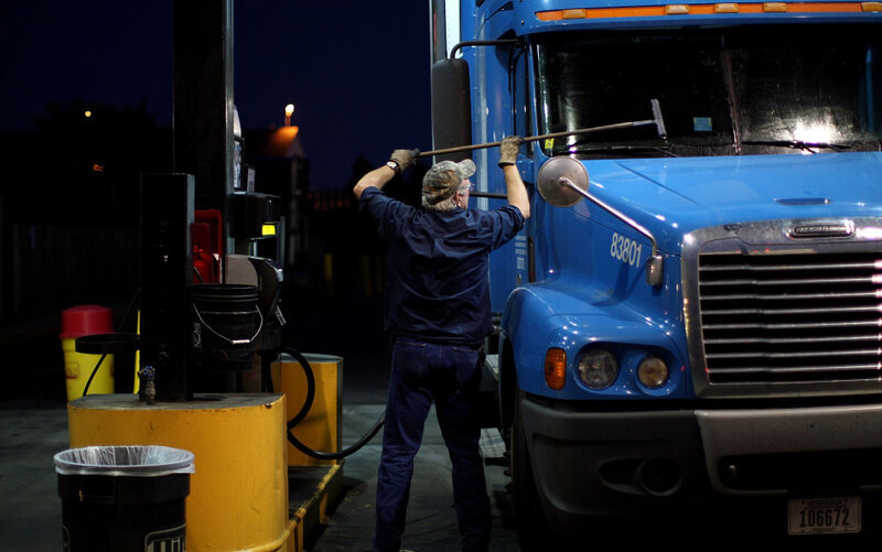 Thousands Of Trucking Jobs, But Few Take The Wheel : NPR