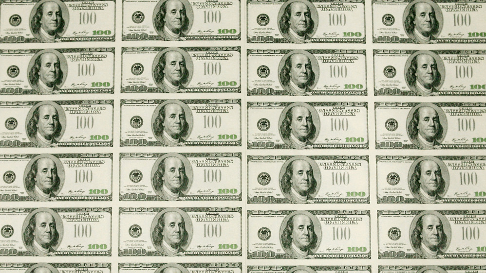 image relating to Play Dollar Bills Printable called Engage in Funds Printable 100 - Absolutely free Down load