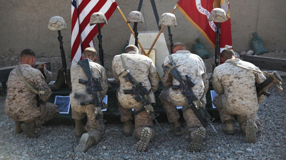 Timeline Darkhorse Marines Deadly Afghan Mission Npr