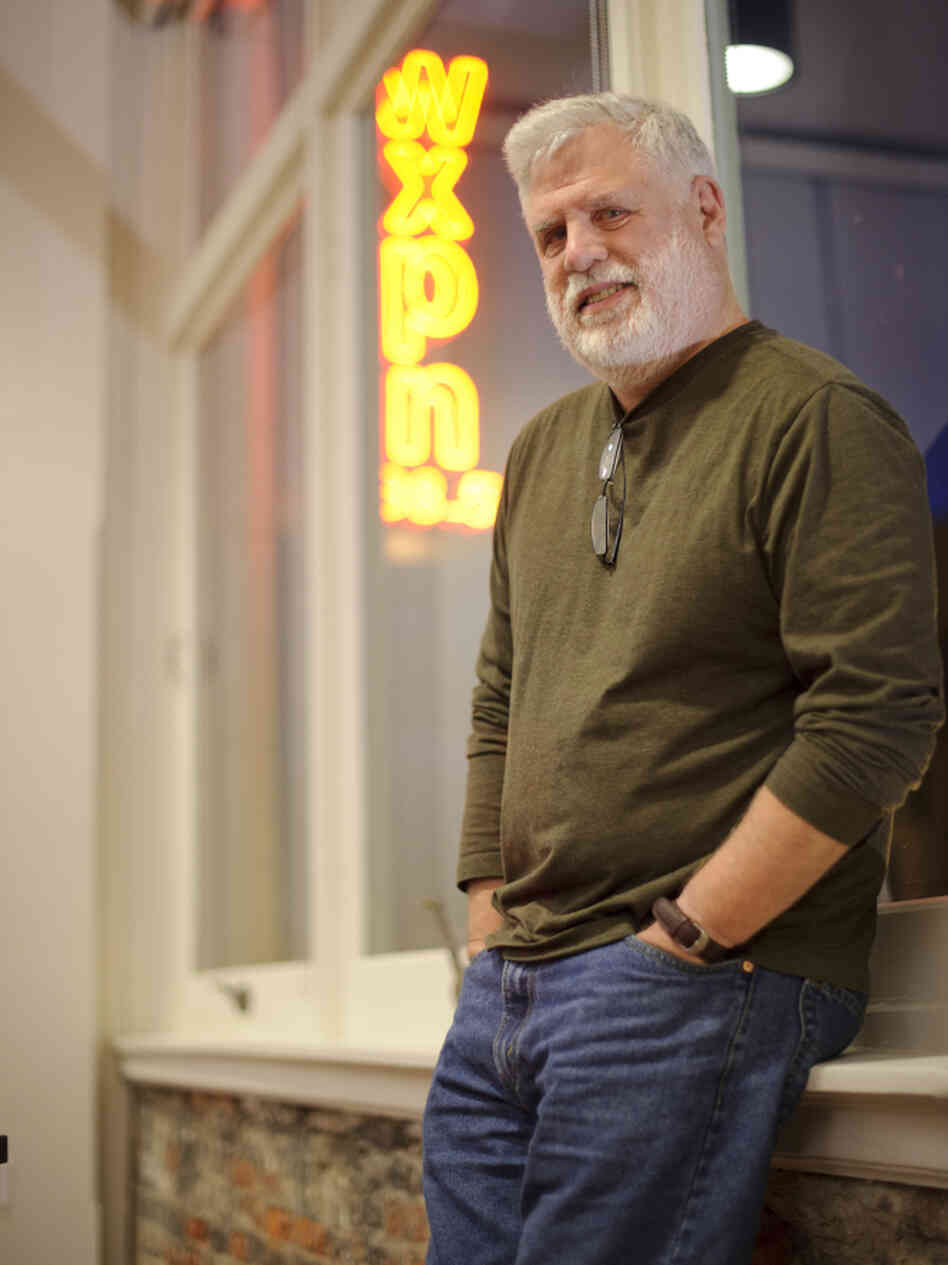 David Dye has hosted WXPN's World Cafe since it hit the airwaves 20 years ago this month.