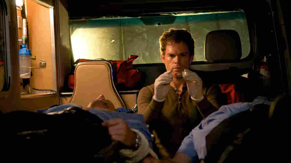 Dexter at work