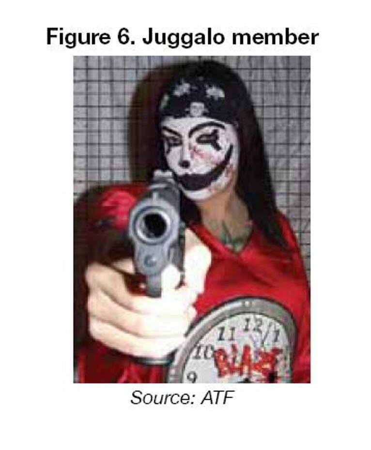 Bloods, Crips     And Juggalos? Insane Clown Posse Fans