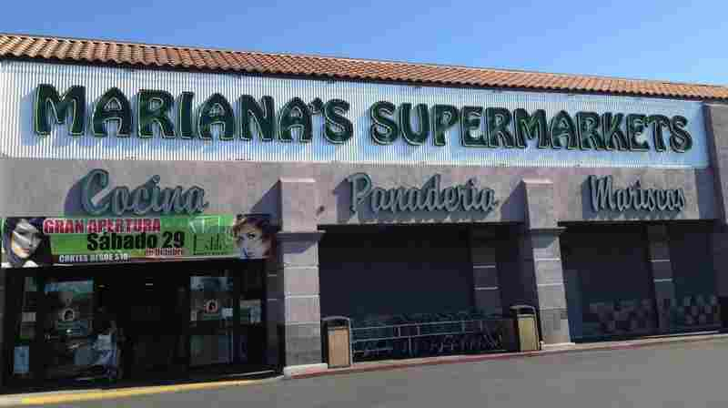 Mariana's bills itself as the Hispanic supermarket for Las Vegas. It's in a working-class neighborhood where President Obama did well with Latino voters in 2008. Most of them still support him.