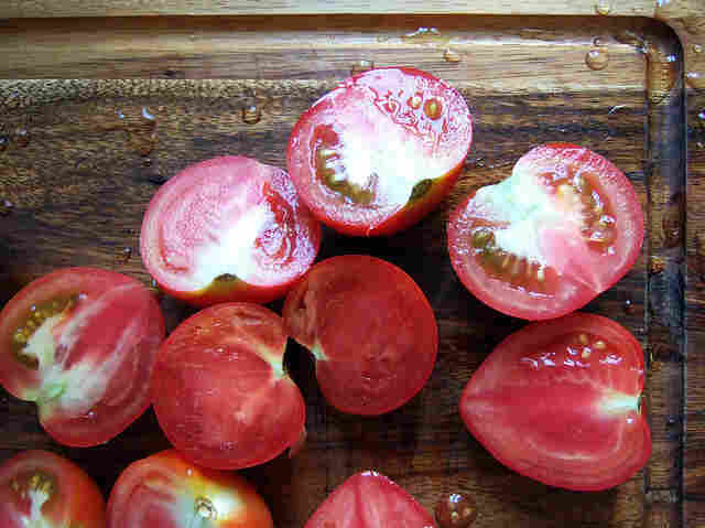Are these tomatoes part of GDP? It depends.