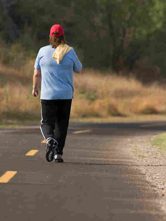 One recent study found that people were able to burn up an extra 450 calories a day with one hour of moderate exercise. That can include walking briskly, biking or swimming.