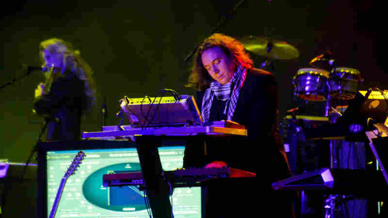 Tangerine Dream plays the Thomas Wolfe Auditorium at Moogfest on Friday, October 28, 2011.