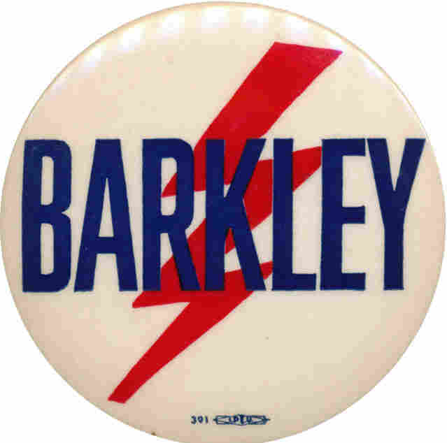 Barkley hoped that lightning would strike at the 1952 Democratic convention.