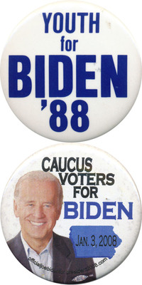 Biden had unsuccessfully run twice before Obama picked him as VP.