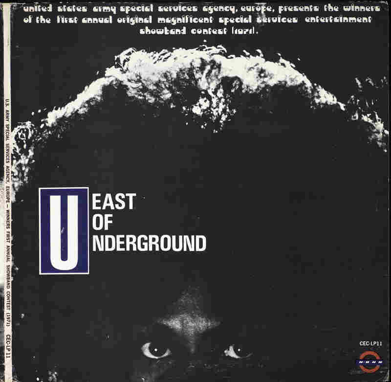 The cover of East of Underground's self-titled LP.