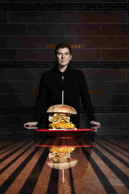 "Bobby Flay's last meal ""would definitely be a cheeseburger."""