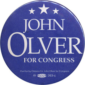 Olver's retirement makes things easier for Mass. Dems, who will see their House delegation shrink by one because of redistricting.