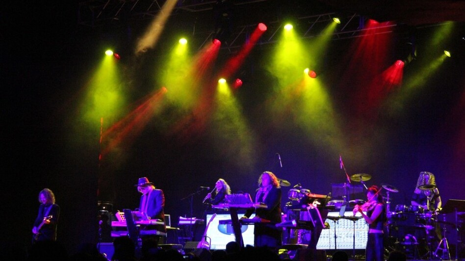 Tangerine Dream performing live at Moogfest 2011 in Asheville, NC.