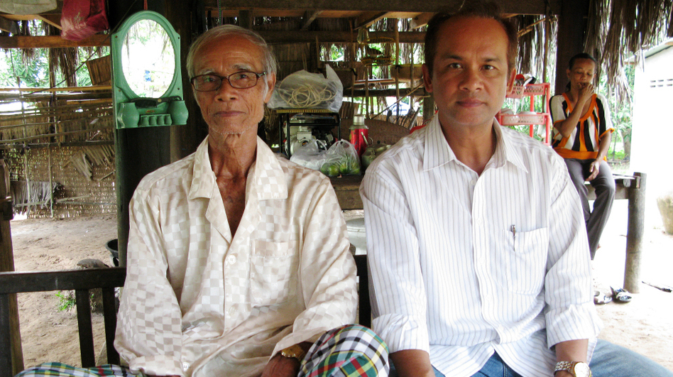 <p>In 1975, the Khmer Rouge told the family of Peou Nam that he had been executed. After 36 years of separation, hardship and an unusual series of events, the family was reunited in June this year. Son Phyrun visits his father at his farmhouse in southern Cambodia's Kampot province. </p>