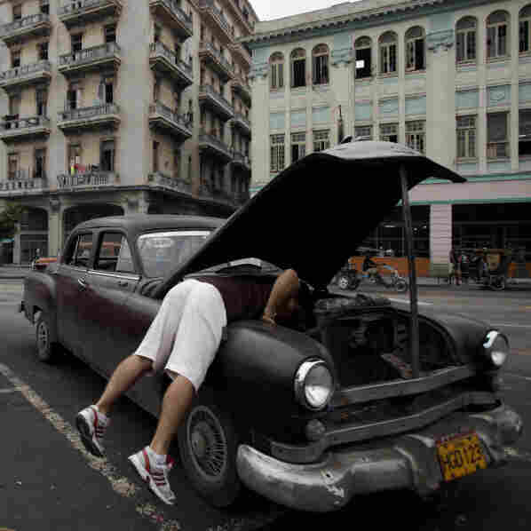 In Cuba, A Used Car Is No Bargain