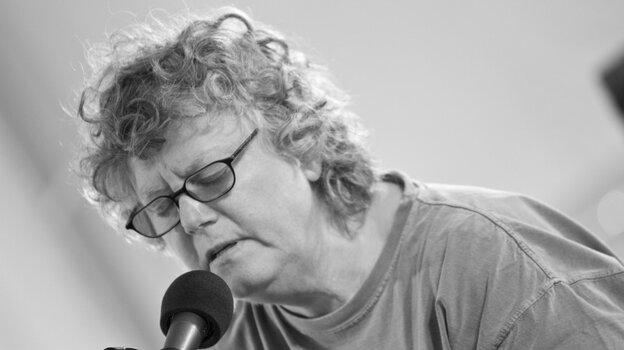 Cheryl Wheeler recently appeared on Mountain Stage, recorded live in Grand Marais, Minn.