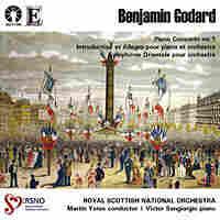 Cover art for Benjamin Godard album.