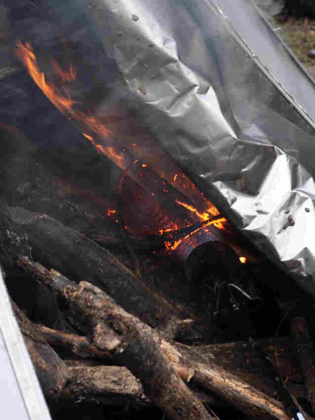An I-Corps team from the University of Washington is working on bringing their pyrolysis blanket to the market. Forest debris are set on fire then covered by the blanket to reduce oxygen, turning ordinary open-air combustion into a process called pyrolysis. The resulting material, known as biochar, can help soil retain moisture and nutrients.