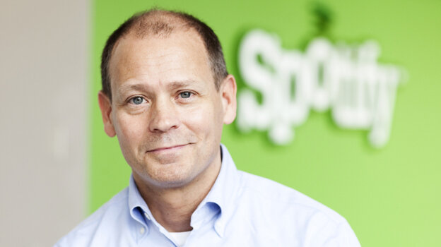"Ken Parks, head of Spotify's New York office: ""With a streaming service like Spotify that gives you access to everything in the world instantaneously, those distinctions between ownership and access tend to disappear."""