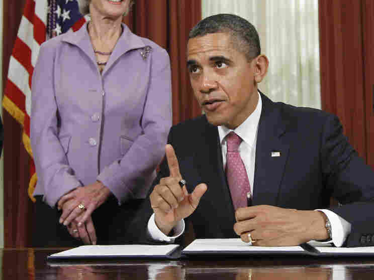 President Obama signed an executive order Monday directing the Food and Drug Administration to take steps to reduce drug shortages. The order is one of several similar actions the president has taken in recent weeks.