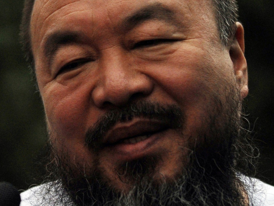 Chinese artist Ai Weiwei in Beijing on June 23, 2011.  (AFP/Getty Images)