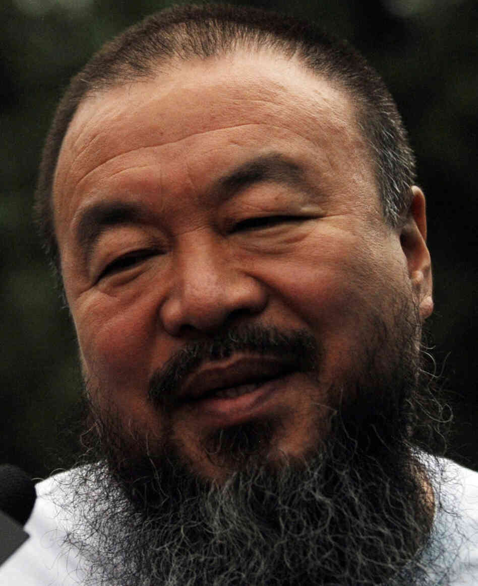Chinese artist Ai Weiwei in Beijing on June 23, 2011.
