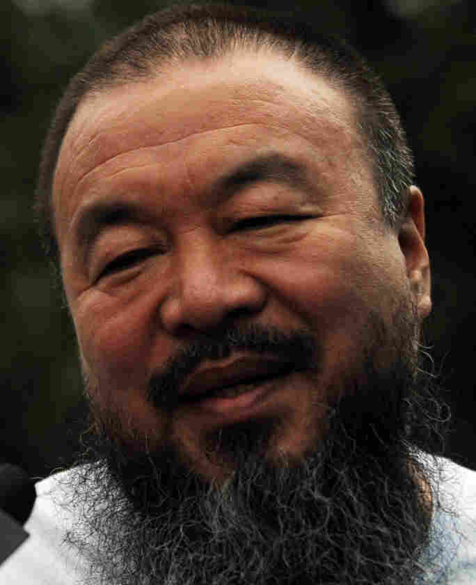 Chinese artist Ai Weiwei in Beijing on June 23, 2011.