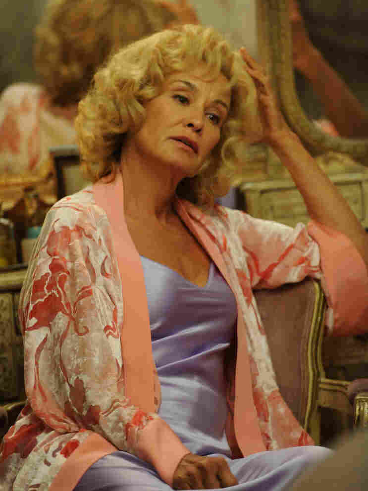 Next-door nightmare: Jessica Lange's Constance is one of many things that's not quite right about American Horror Story — and a substantial part of what makes it such stylish good fun.
