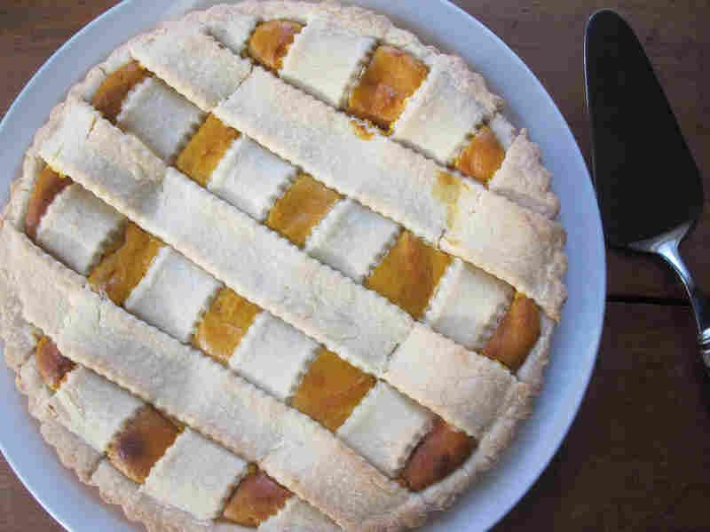 Crostata Di Zucca Gialla E Ricotta (Buttercup Squash And Ricotta Crostata)