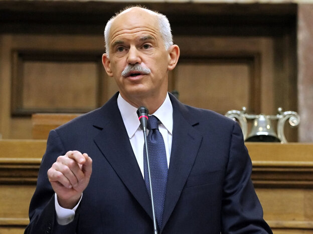 Greek Prime Minister George Papandreou.