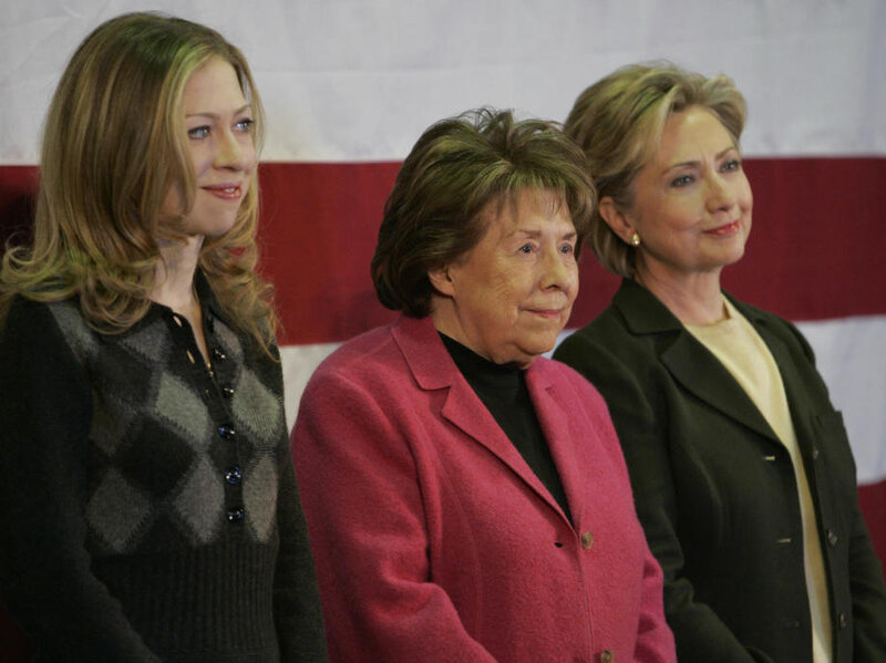 Hillary Clinton's Mother Dies At 92 : The Two-Way : NPR