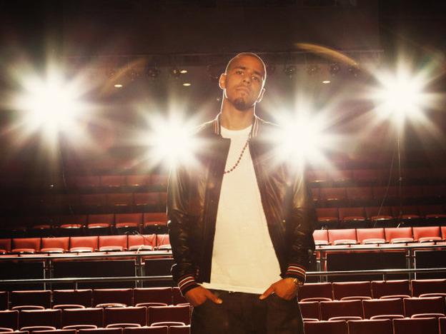 <p>North Carolina rapper J. Cole's debut album <em><em>Cole World: The Sideline Story</em></em> debuted at No. 1 on the Billboard music chart.</p>