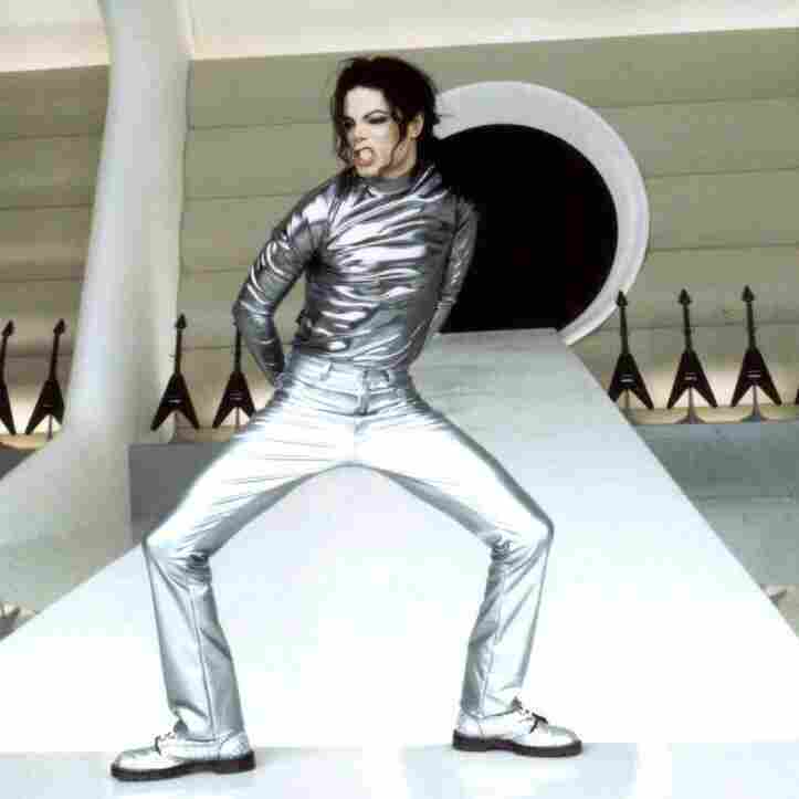 """Michael Jackson performs in his """"Scream"""" video for MTV in 1995."""